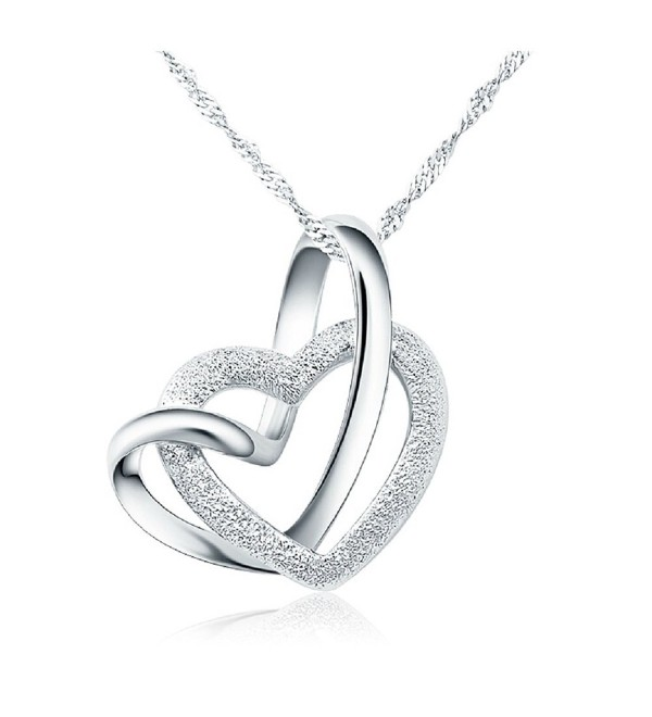 Sterling Lifetime Interlocking Crafted Necklace - CR120W4Y47P