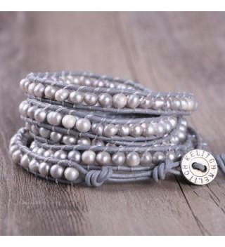 KELITCH Natural Bracelet Handmade Fashion in Women's Wrap Bracelets