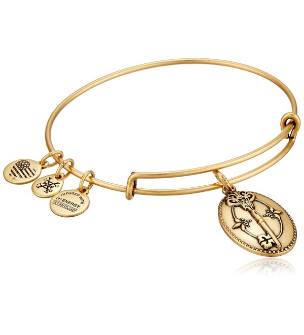 Alex and Ani Key To Life Expandable Rafaelian Bangle Bracelet - Rafaelian Gold - CS125HEQPYP