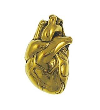 Human Heart Gold Lapel Pin - CS1172NZRAH