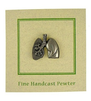 Human Heart Gold Lapel Pin in Women's Brooches & Pins