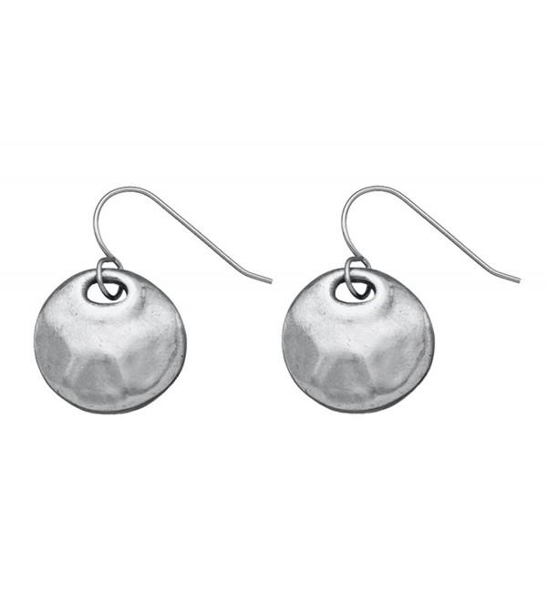Danforth - Serenity Pewter Wire Earrings - CA110MMJHR5