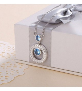 Mothers Sterling Silver Eternal Necklace in Women's Pendants