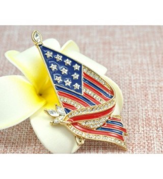 Gyn Joy American Patriotic BZ026 in Women's Brooches & Pins