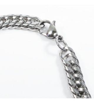 Stainless Steel Tight Double Bracelet in Women's Link Bracelets