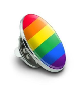 Rainbow Pride Lesbian Contemporary Pinback