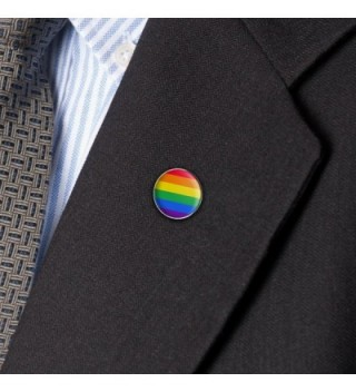 Rainbow Pride Lesbian Contemporary Pinback in Women's Brooches & Pins