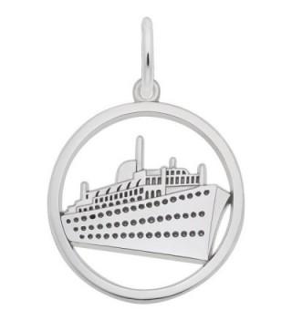 Rembrandt Charms- Cruise Ship- Engravable - CA1175D73U7