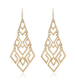 EXCEED Fashion Chandelier Lightweight Statement - Gold - CG182HLAKLU