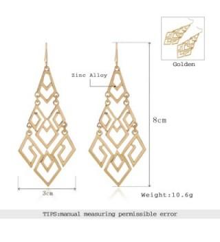 EXCEED Fashion Chandelier Lightweight Statement in Women's Drop & Dangle Earrings