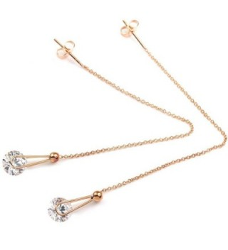 FC JORY Crystal Threader Earrings
