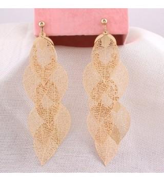 Grace Jun Handmade Multi layer Earrings in Women's Clip-Ons Earrings