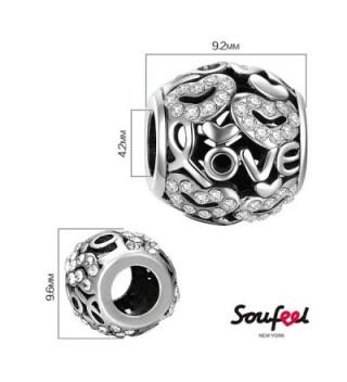 SOUFEEL Swarovski Sterling European Bracelets