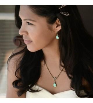 Swarovski Crystal Teardrop Bridesmaids Necklace