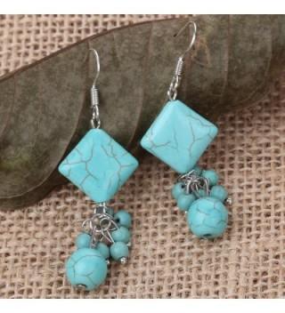 YAZILIND Pretty Earrings Jewelry vintage in Women's Drop & Dangle Earrings