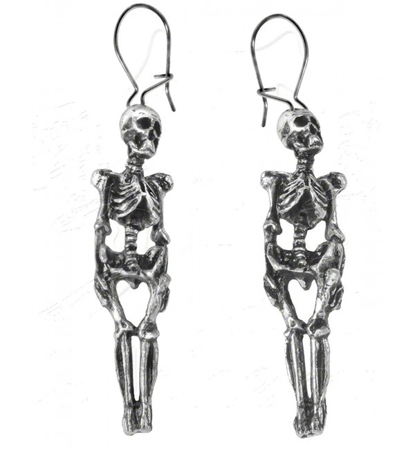 Skeleton Earrings by Alchemy Gothic- England - CG115A2DLD7