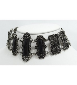 Vivian Necklace Elegant Victorian Jewelry in Women's Choker Necklaces