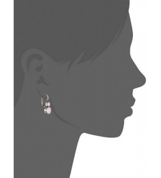 Mariana Silver Opalescent Crystal Earrings
