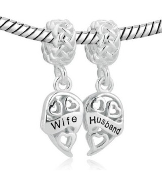 LovelyJewelry Sterling Silver Husband Bracelets