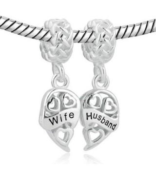 LovelyJewelry Sterling Silver Husband Bracelets