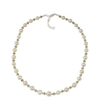 Cultured Freshwater Necklace Earrings Bracelet in Women's Jewelry Sets