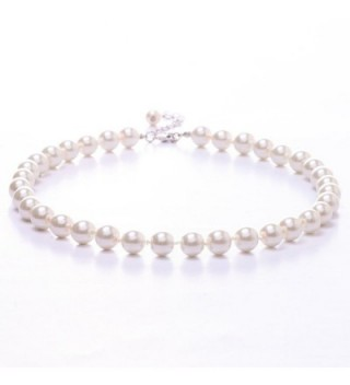 Jane Stone Fashion Simulated Necklace in Women's Pearl Strand Necklaces