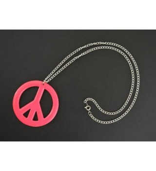 Hippie Enamel Finish Pendant Necklace