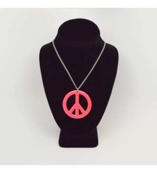Hippie Enamel Finish Pendant Necklace in Women's Pendants