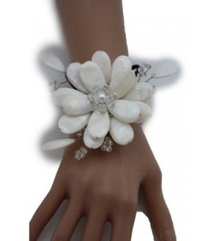 Fashion Jewelry Elastic Bracelet Flower