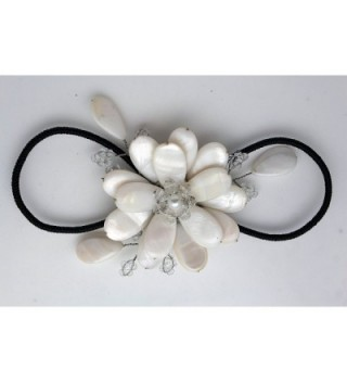 Fashion Jewelry Elastic Bracelet Flower in Women's Cuff Bracelets