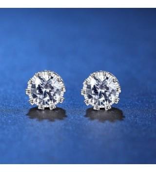 ANEWISH Jewelry Zirconia Sterling Earrings in Women's Stud Earrings