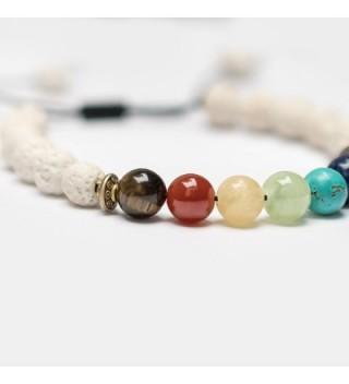Chakra Stones Essential Diffusers Bracelets in Women's Stretch Bracelets