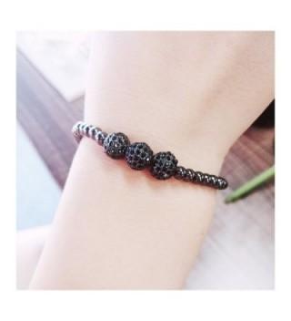 Shoopic Charming Rhinestone Braided Bracelet in Women's Strand Bracelets