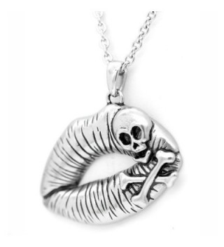 Controse Silver Toned Stainless Poisonous Necklace