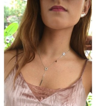 Lariat Layering Shaped Necklace Stainless in Women's Y-Necklaces