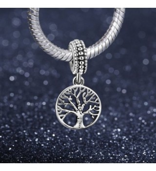 ANGEMIEL Sterling Silver European Bracelets in Women's Charms & Charm Bracelets