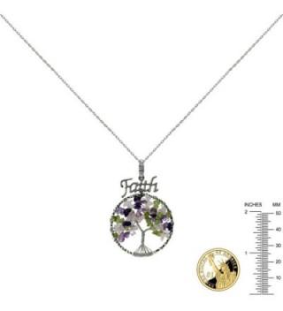 Necklace Friend Gemstones Pendant circle