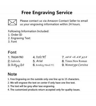 Flongo Engraving Stainless Anniversary Bracelet