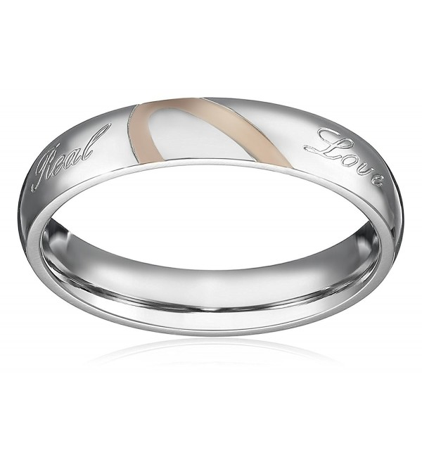 Separate Stainless Promise Valentine Engagement - CT184WE75A4
