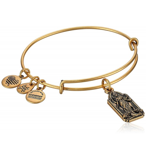 Alex and Ani Lakshmi Bangle Bracelet- Expandable - Rafealian Gold - CR187WUCILN
