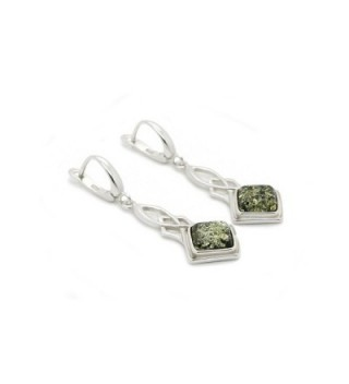 Sterling Leverback Earrings Genuine Natural