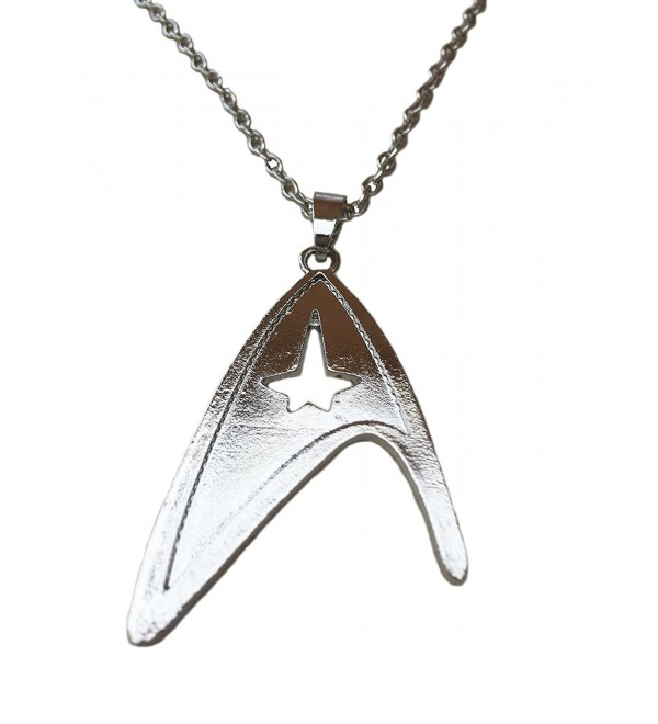 Starfleet Division Silver Tone Necklace. Movie Inspired - C31284HOZFX