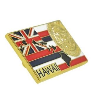 PinMarts State Shape Hawaii Lapel