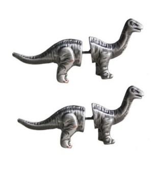 Tabwing Cute Dinosaur Piercing Stud Earrings (Silver) - C3126FGHNXL