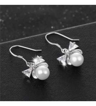 XZP Hypoallergenic Sterling Earrings Zirconia in Women's Drop & Dangle Earrings