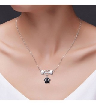 Sterling Silver Forever Pendant Necklace in Women's Pendants