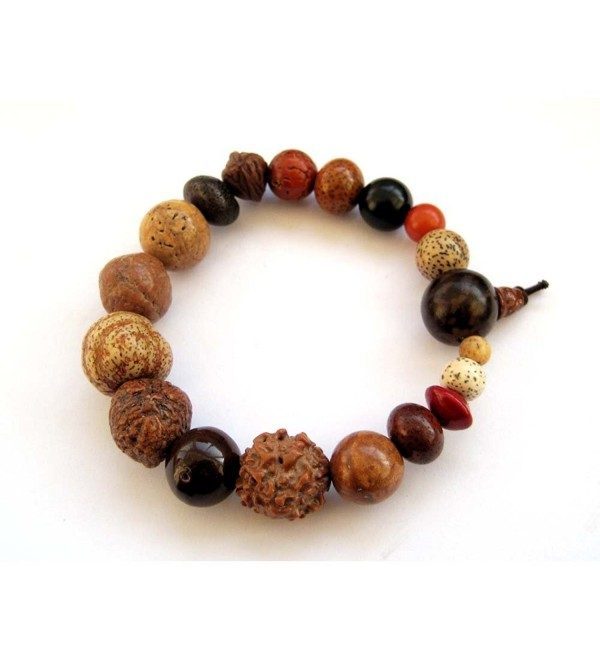 Seed Beads Tibetan Buddhist Wrist Mala Prayer Beads - CO1185E83UJ