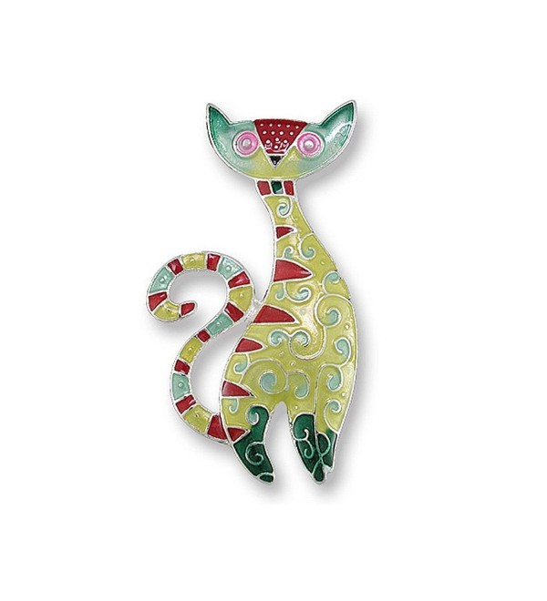 Cat Radiance Enamel Pin - CG11GPSSOAP