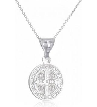 Sterling Benedict Reversable Pendant Necklace in Women's Pendants