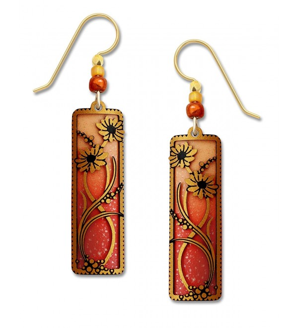 Adajio by Sienna Sky Orange and Tangerine Filigree Earrings 7708 - CF12FMU9B13
